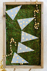 Fancy Vellum Pennant Banner, Partyware, My Mind's Eye - 3LittlePicks