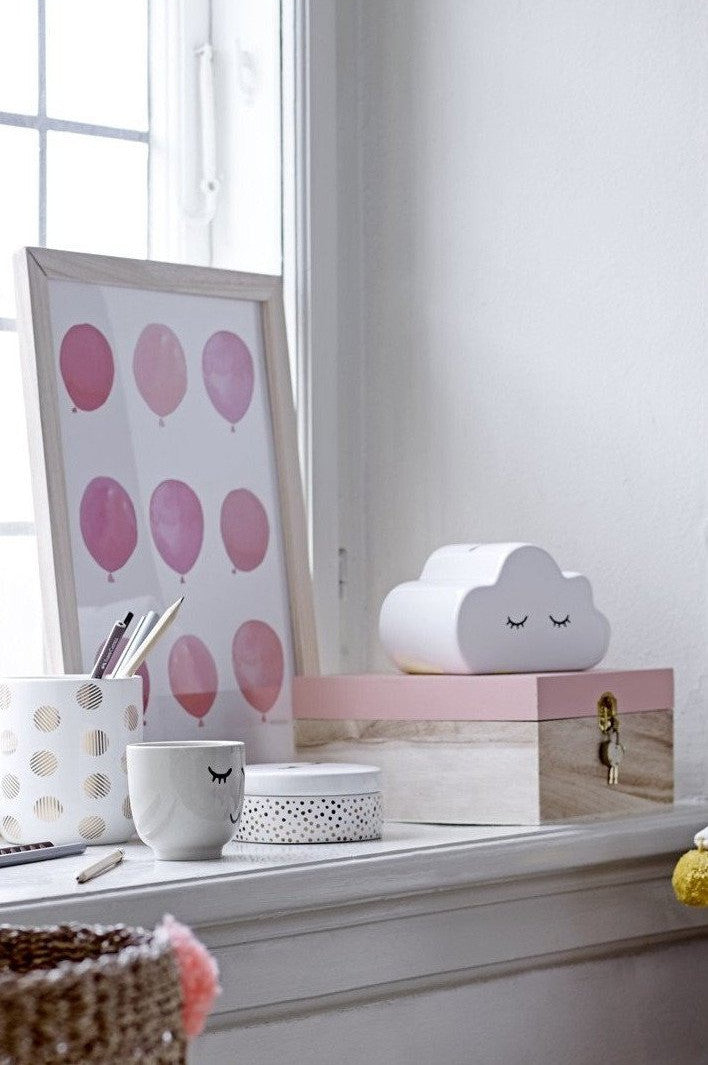 Sleepy Cloud Money Bank, Toy, Bloomingville - 3LittlePicks