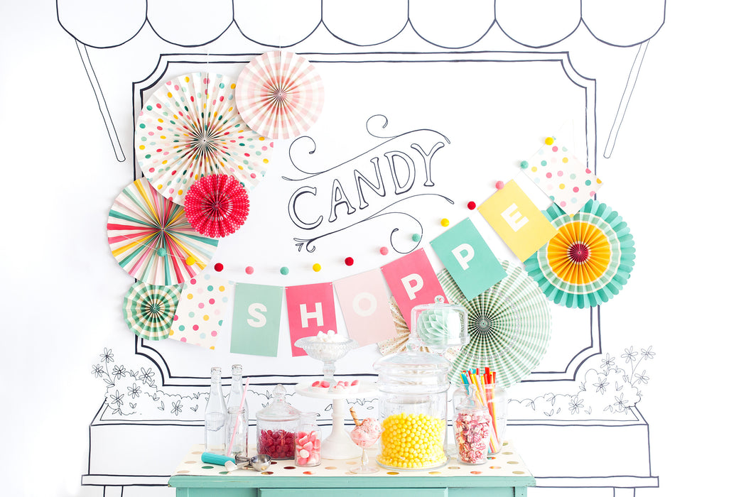 Hooray Letter Banner, Partyware, My Mind's Eye - 3LittlePicks