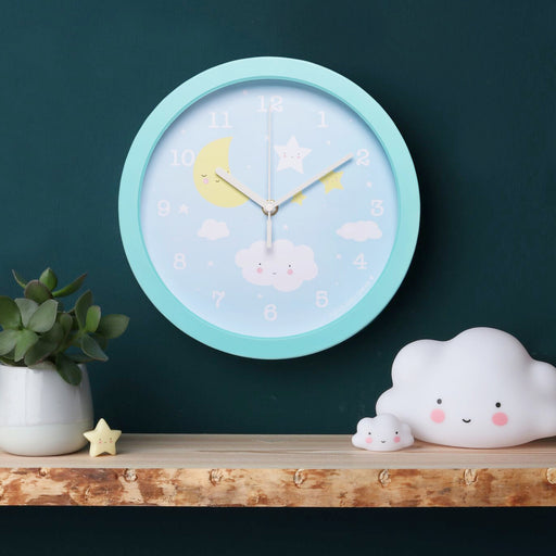 Cloud Wall Clock, Lifestyle, A Little Lovely Company - 3LittlePicks