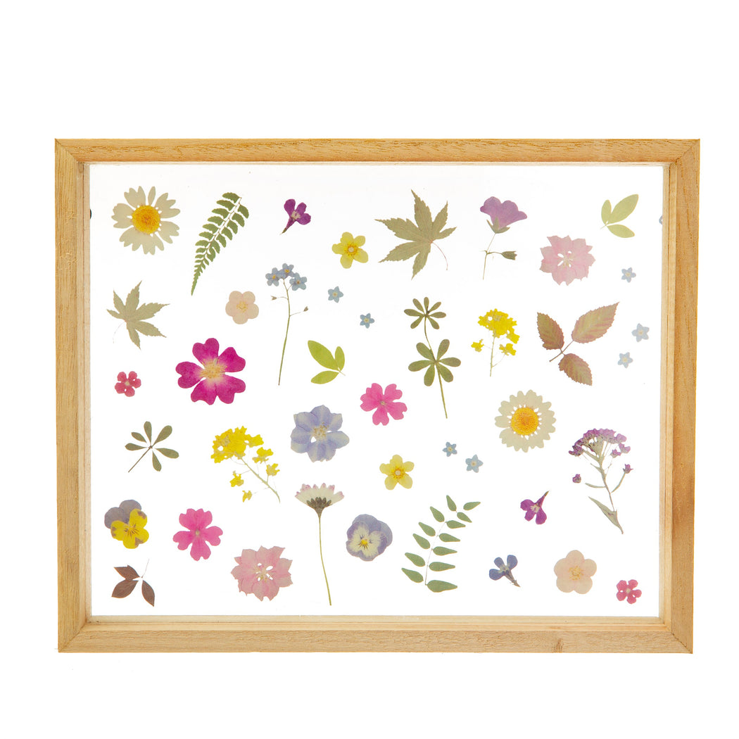 Pressed Flower Effect Framed Wall Art
