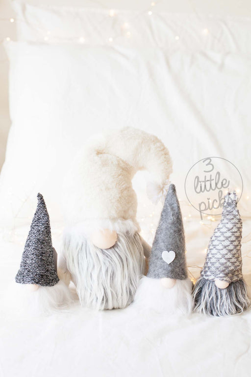 Handmade Gnome, Decor, Miss Etoile - 3LittlePicks