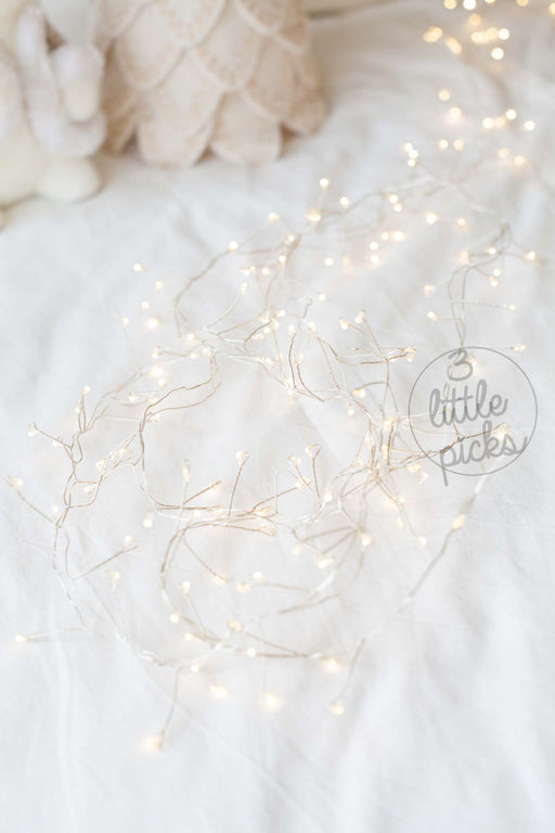 COMING SOON: Sparkly Cluster Garland LED Lights