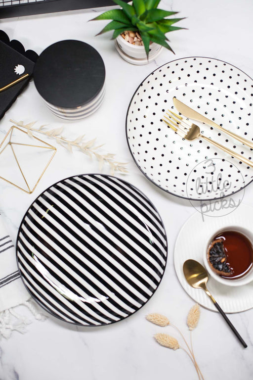 Stripes and Dots Dining, Serveware, 3littlepicks - 3LittlePicks