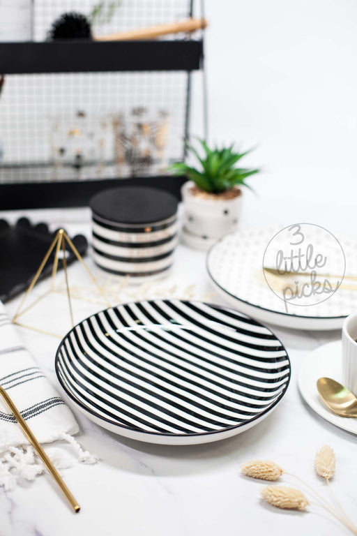 COMING BACK: Stripes and Dots Dining, Serveware, 3littlepicks - 3LittlePicks