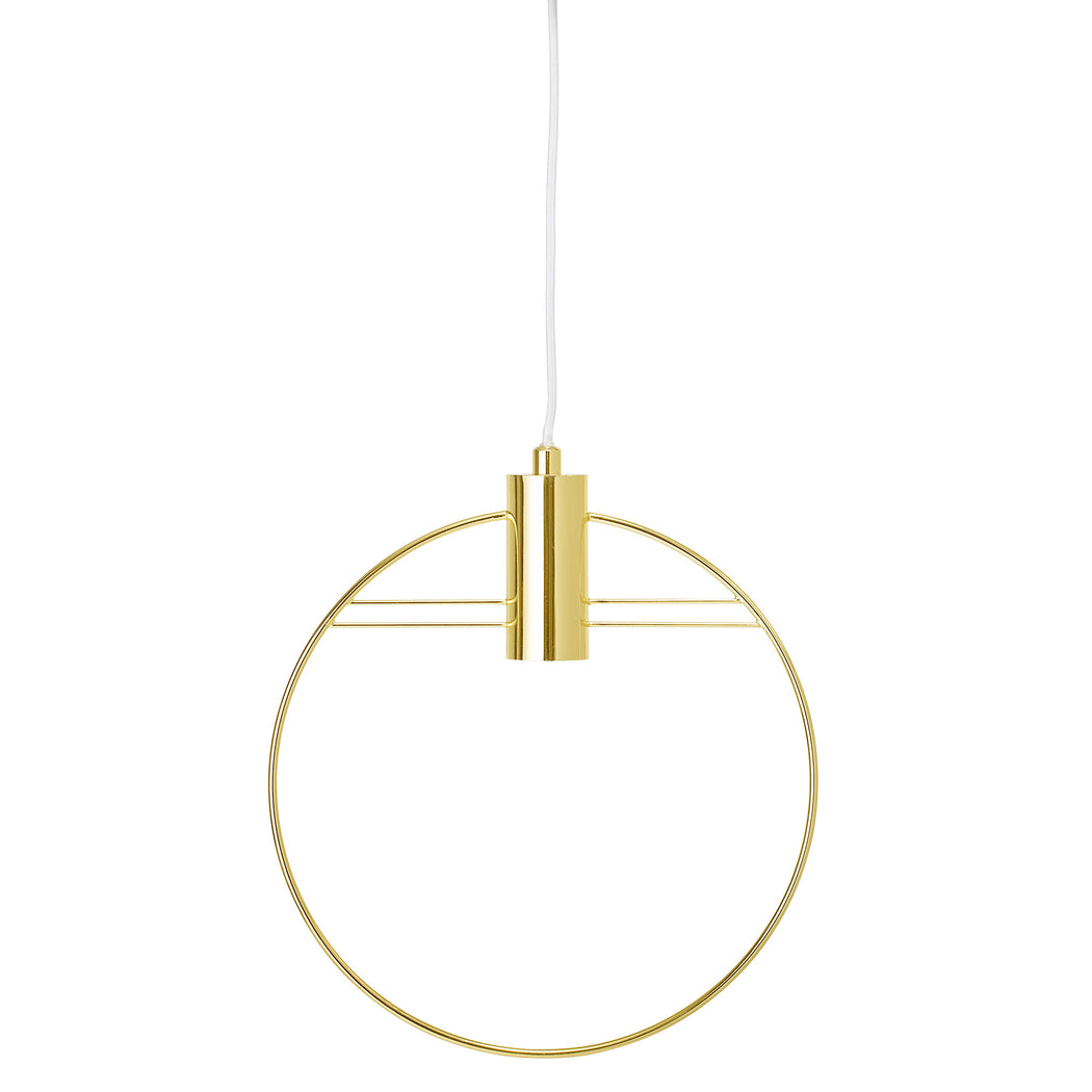 Golden Pendant Lamp, Lighting, Bloomingville - 3LittlePicks