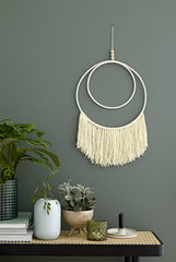 Dual Circle Wall Hanging, Decor, Bloomingville - 3LittlePicks