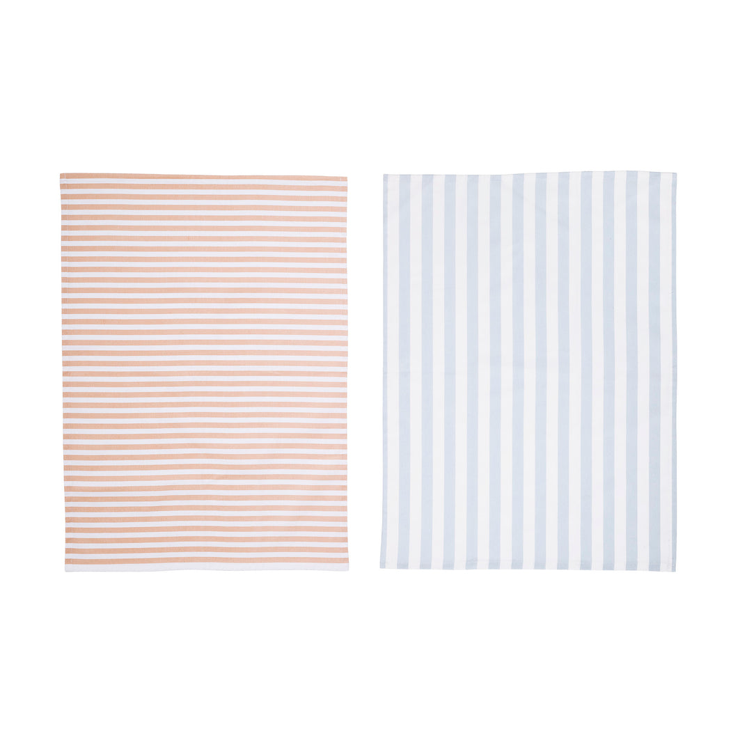 Blue And Apricot Stripes, Kitchen Accessories, Bloomingville - 3LittlePicks