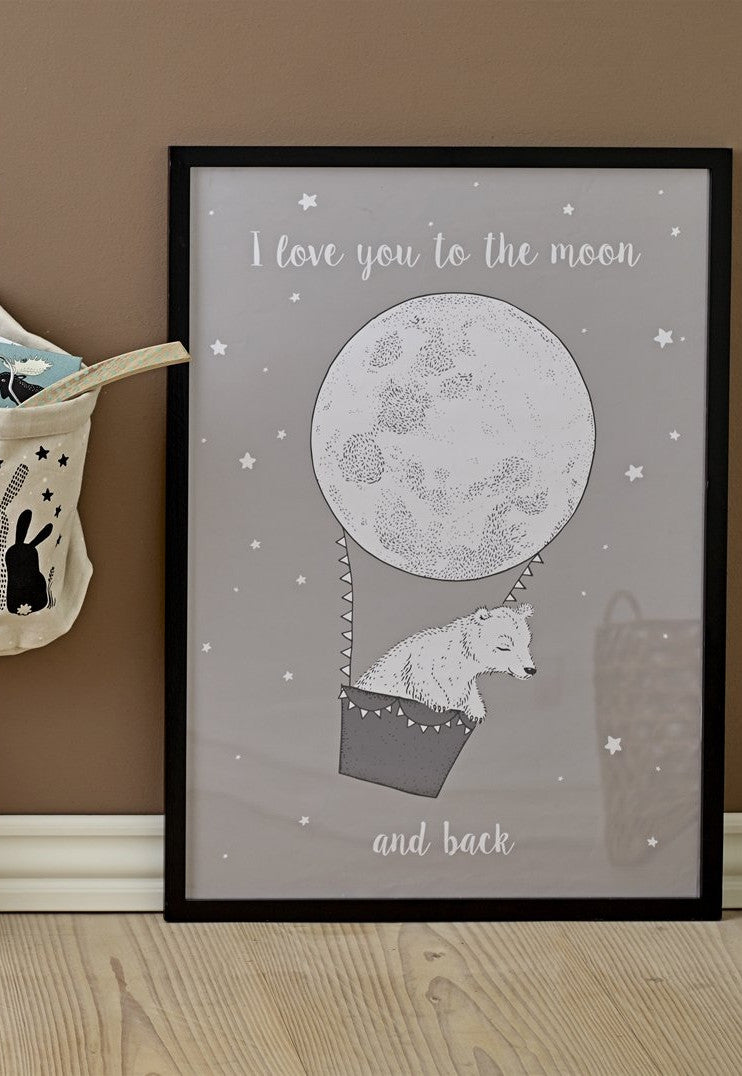 Moon And Back Poster
