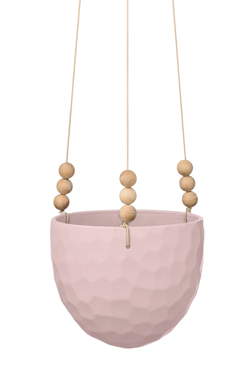 Blush Hanging Flowerpot, Decor, Bloomingville - 3LittlePicks