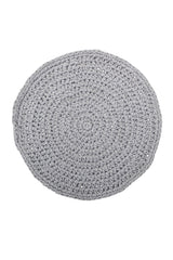 Grey Crochet Placemat