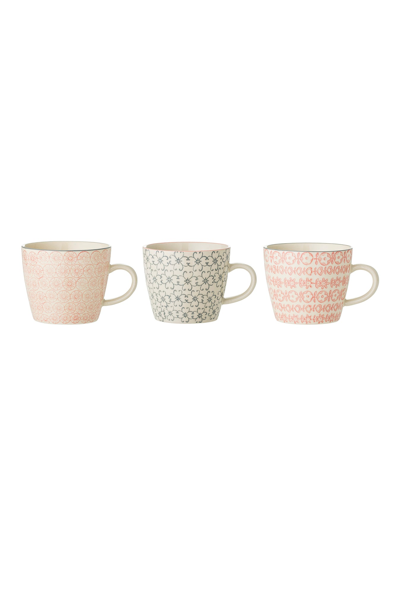 Cecile Mugs, Drinkware, Bloomingville - 3LittlePicks