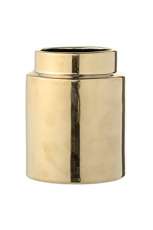Golden Glazed Décor Vase, Vase, Bloomingville - 3LittlePicks