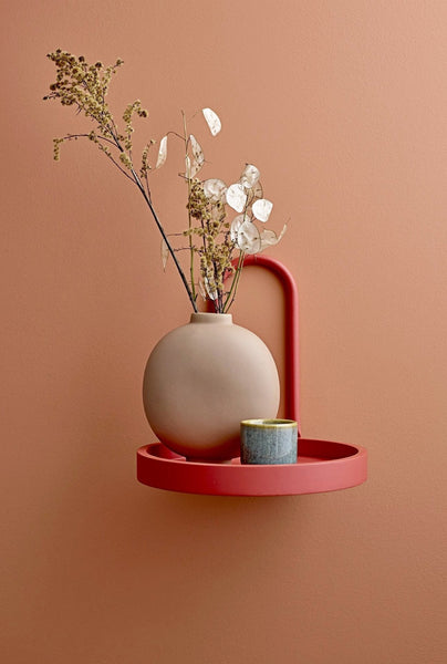 Rose Brown Vase