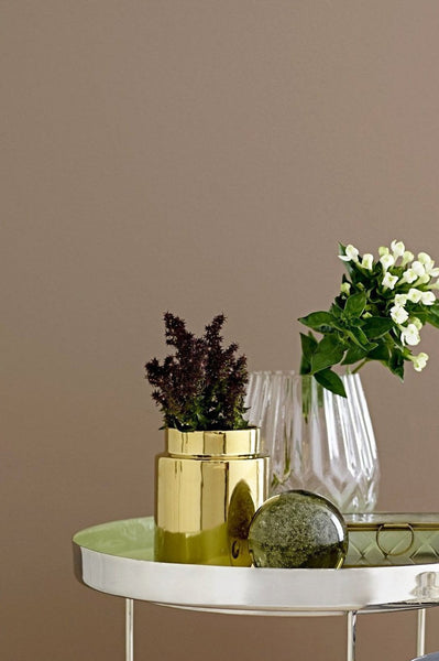 Golden Glazed Décor Vase