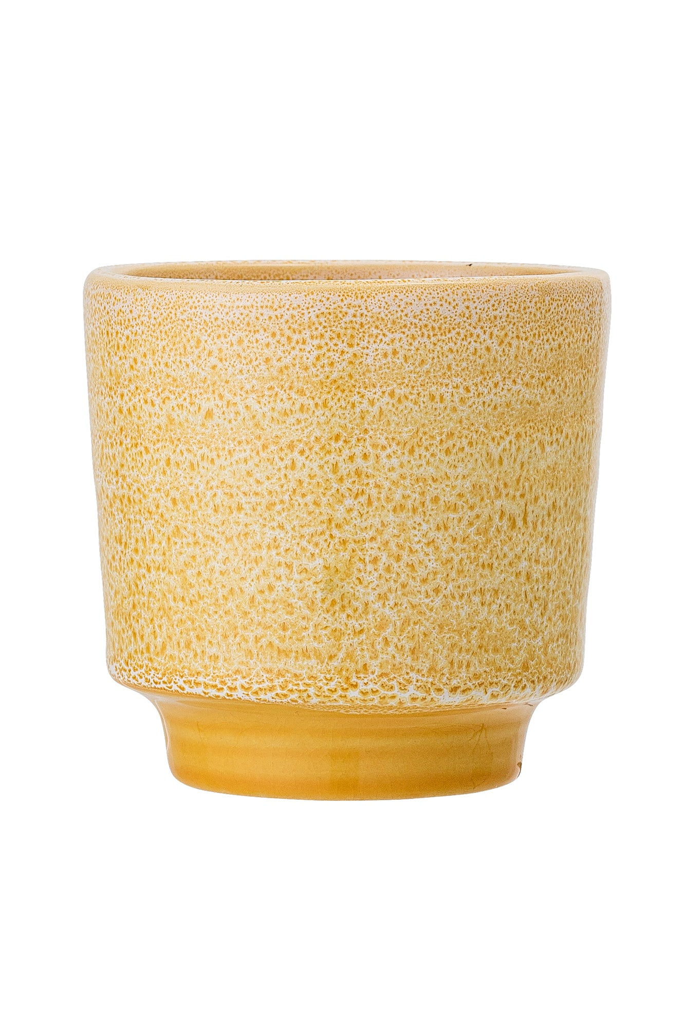 Yellow Splash Flowerpot