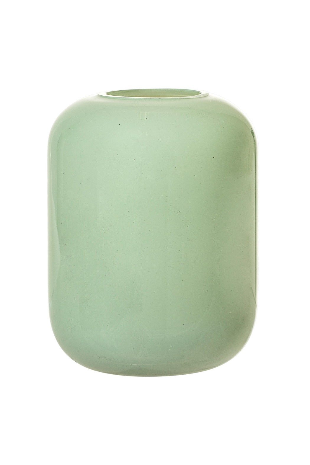 Simple Green Glass Vase, Vase, Bloomingville - 3LittlePicks