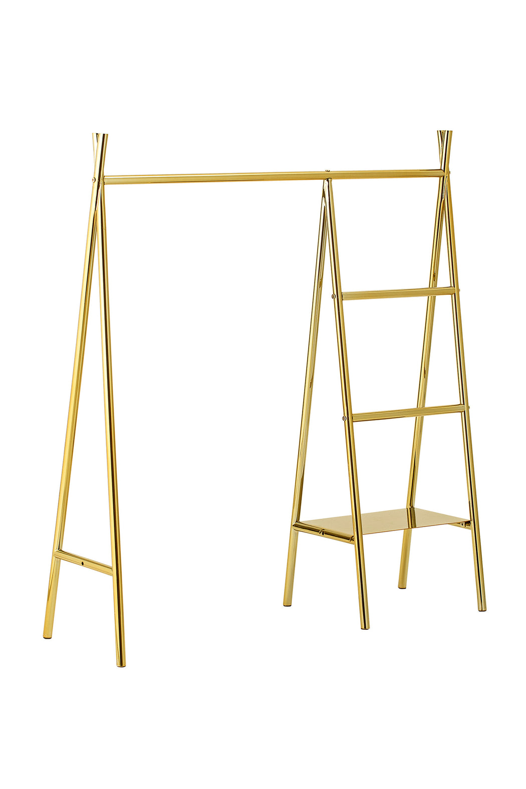 Golden Clothes Rack, Furniture, Bloomingville - 3LittlePicks