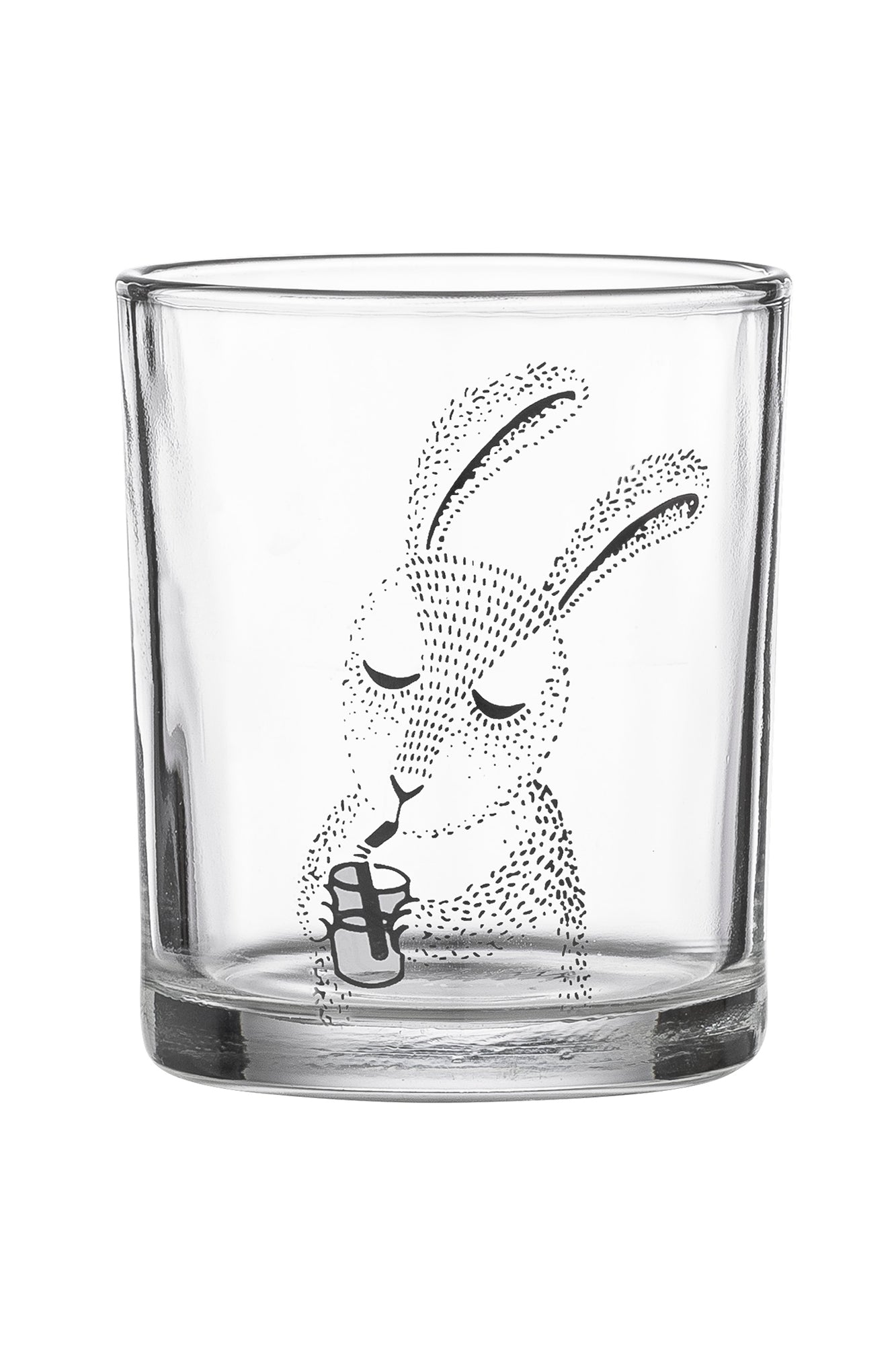 Clear Bunny, Drinkware, Bloomingville - 3LittlePicks