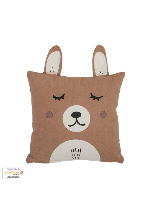 Brown Bunny Cushion, Cushion, Bloomingville - 3LittlePicks
