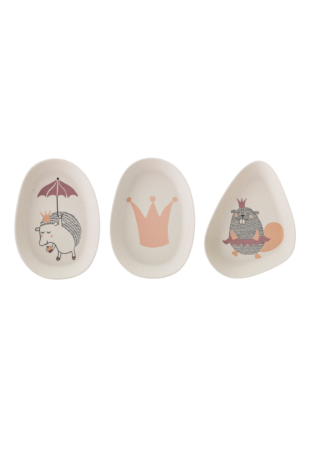 Princess Bamboo Plates, Dining, Bloomingville - 3LittlePicks