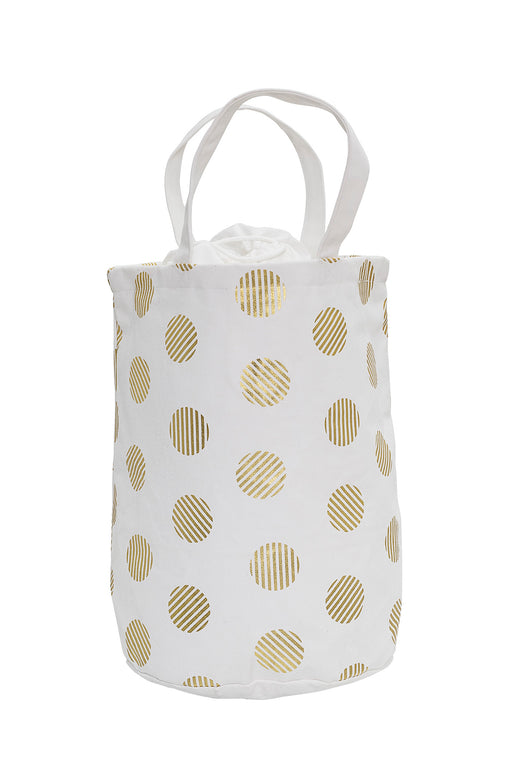 COMING SOON: Golden Dots Storage Bag, Storage, Bloomingville - 3LittlePicks