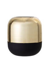Elegant Black Gold Vase, Vase, Bloomingville - 3LittlePicks