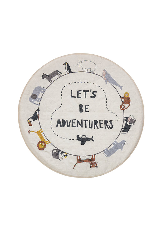 Be Adventurers Cotton Rug, Textile, Bloomingville - 3LittlePicks