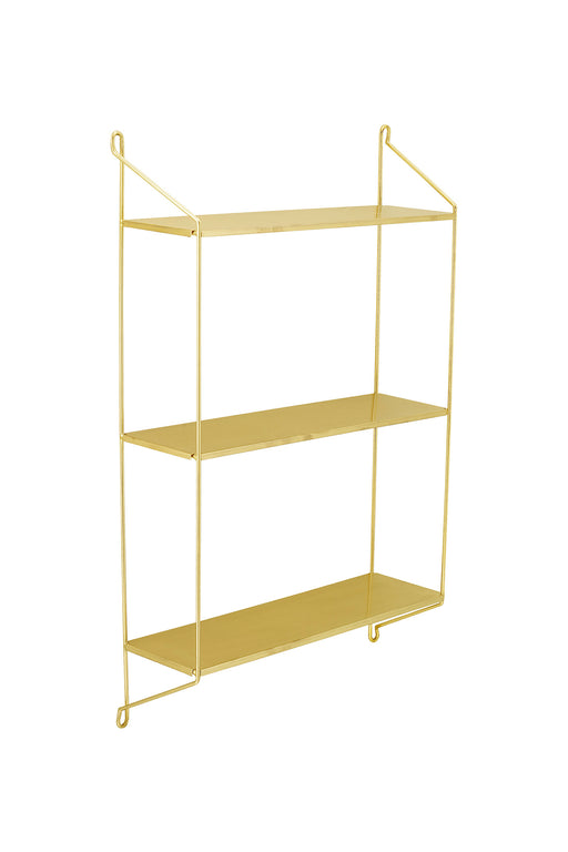 Layla Golden Wall Shelf, Lifestyle, Bloomingville - 3LittlePicks