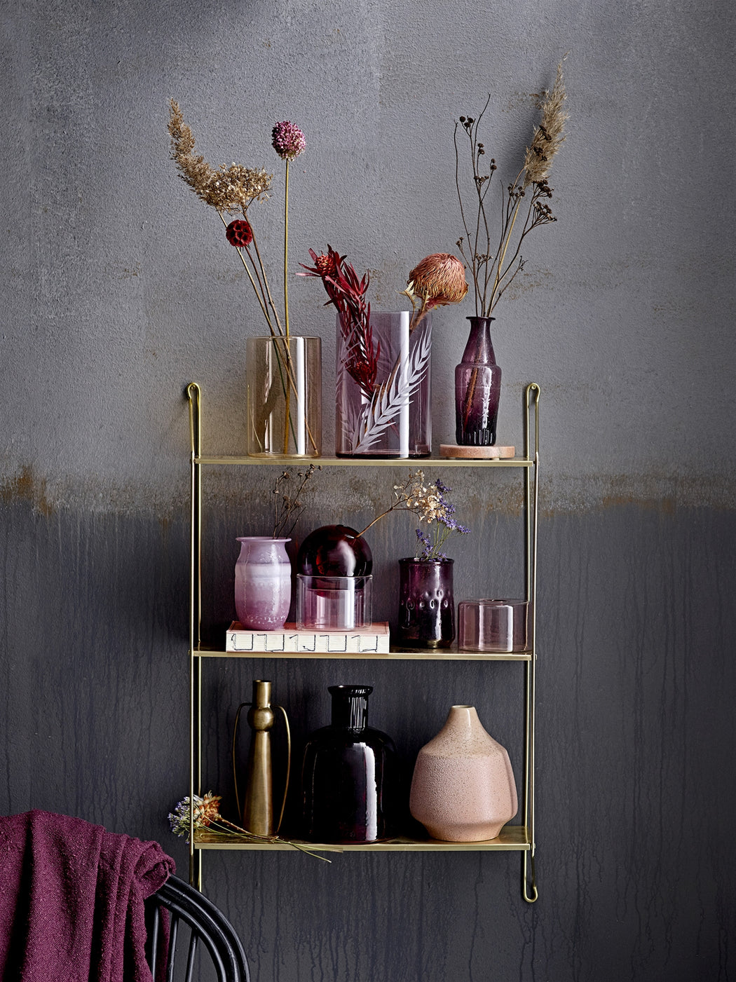 Layla Golden Wall Shelf