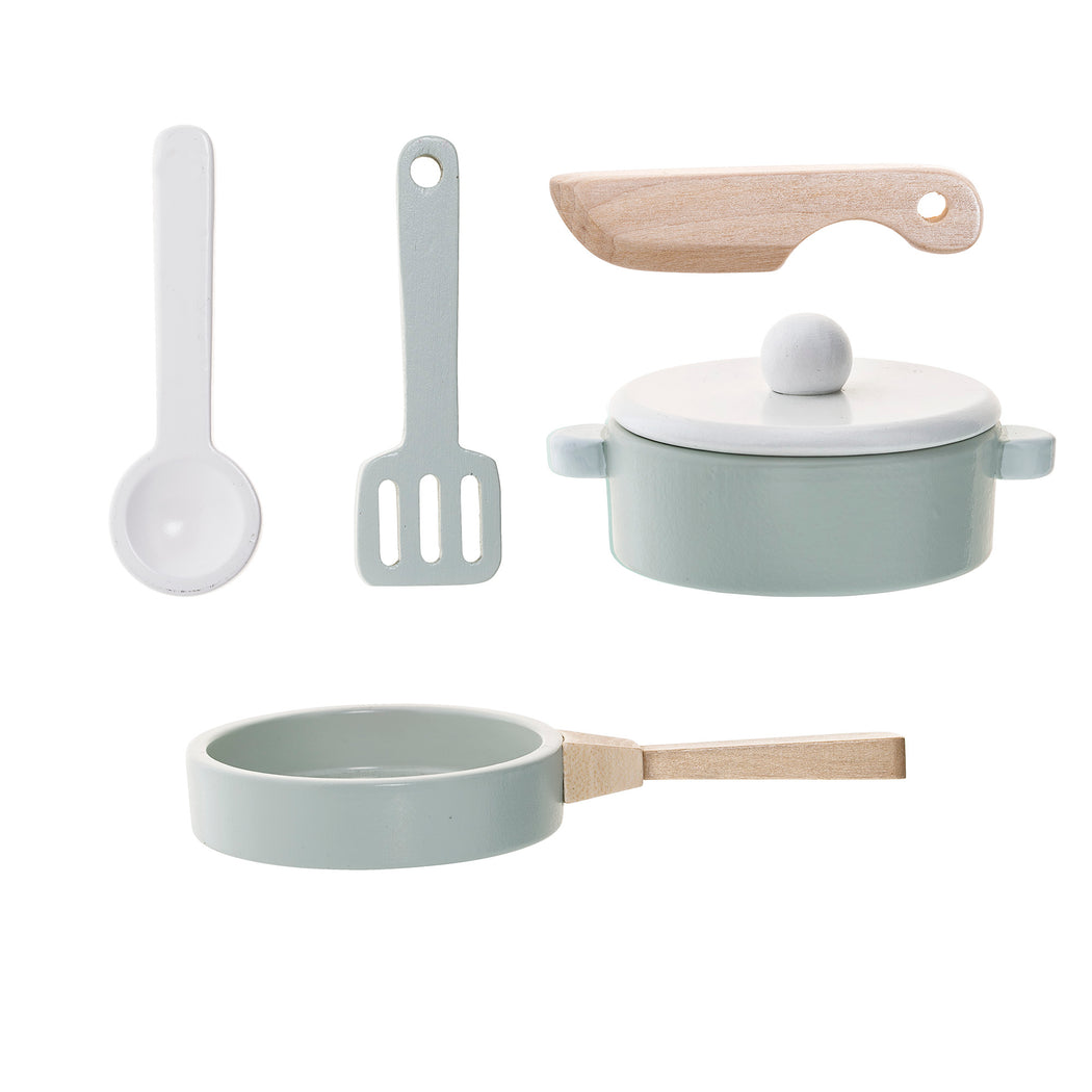 Wooden Cooking Play Set