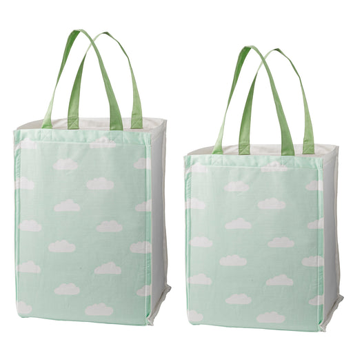 PRE-ORDER: Squirrel and Clouds Storage Bag Set