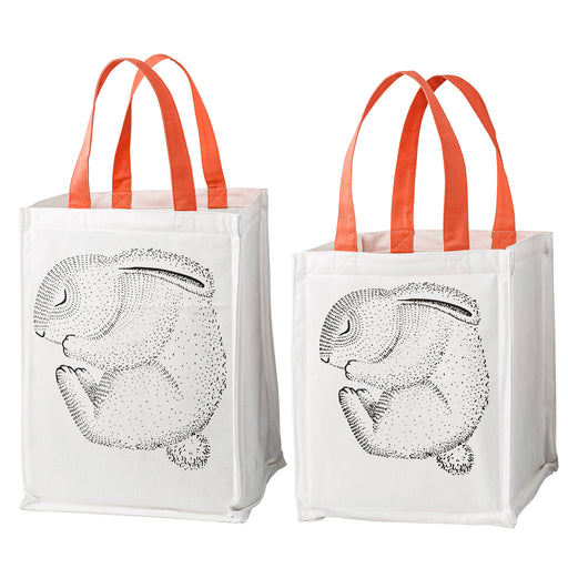 PRE-ORDER: Rabbit and Dots Storage Bag Set
