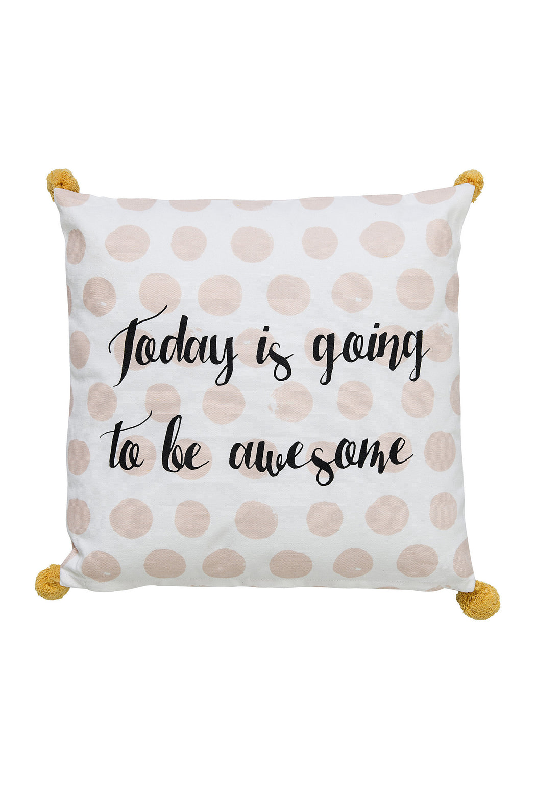 Awesome Day Cushion, Cushion, Bloomingville - 3LittlePicks