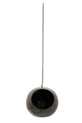 Brown Hanging Flowerpot, Decor, Bloomingville - 3LittlePicks