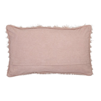 Rose Fringed Cushion