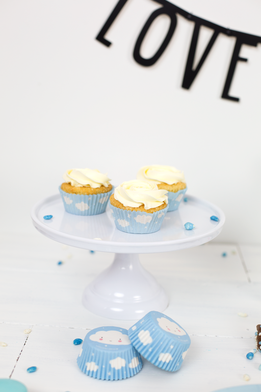 COMING BACK: Small White Cake Stand, Serveware, A Little Lovely Company - 3LittlePicks