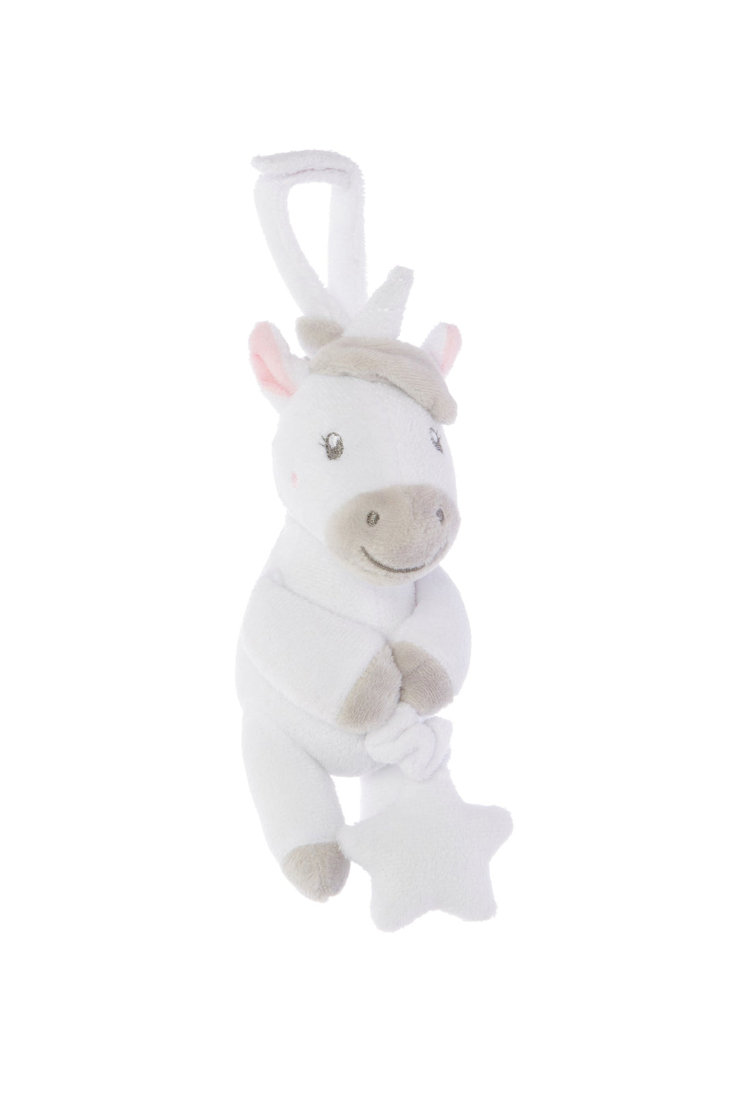 Evie Unicorn Pull Down Baby Toy, Cushion, Sass & Belle - 3LittlePicks