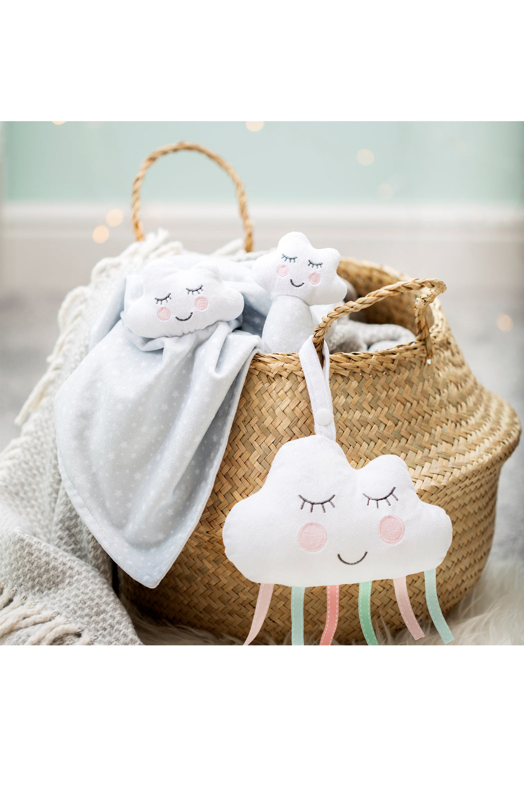 Sweet Dreams Cloud Baby Comforter, Cushion, Sass & Belle - 3LittlePicks