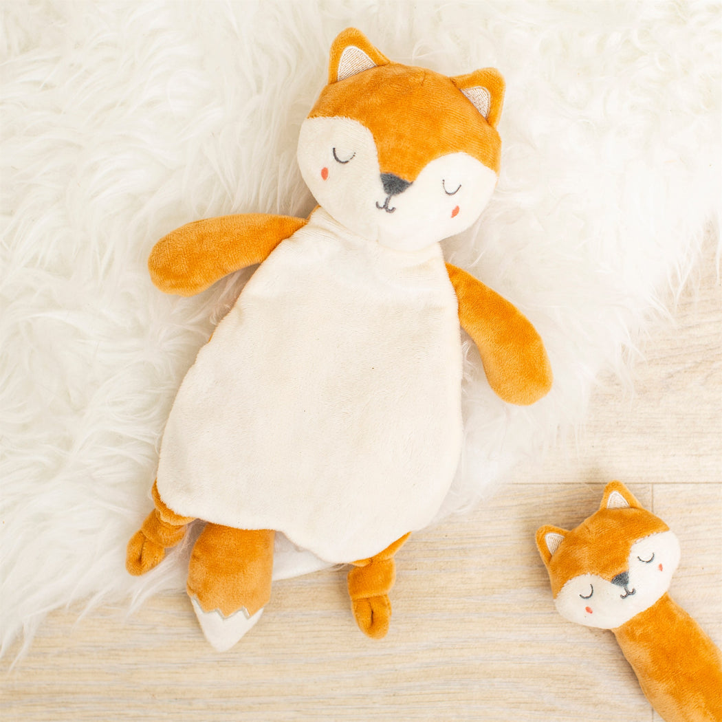 Woodland Fox Cuddle Comforter, Cushion, Sass & Belle - 3LittlePicks