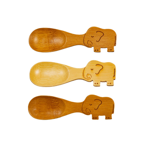 Elephant Bamboo Spoons
