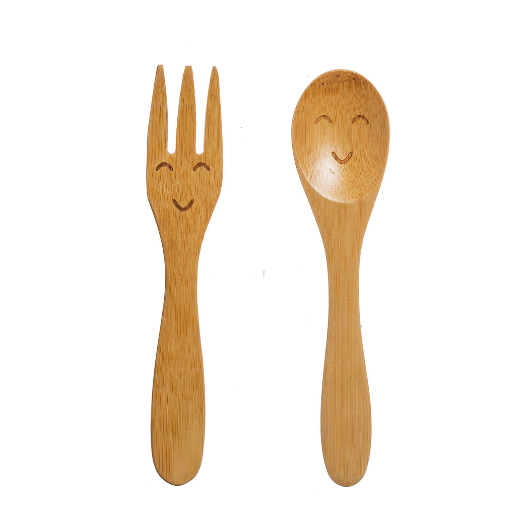 Kids Bamboo Cutlery Set