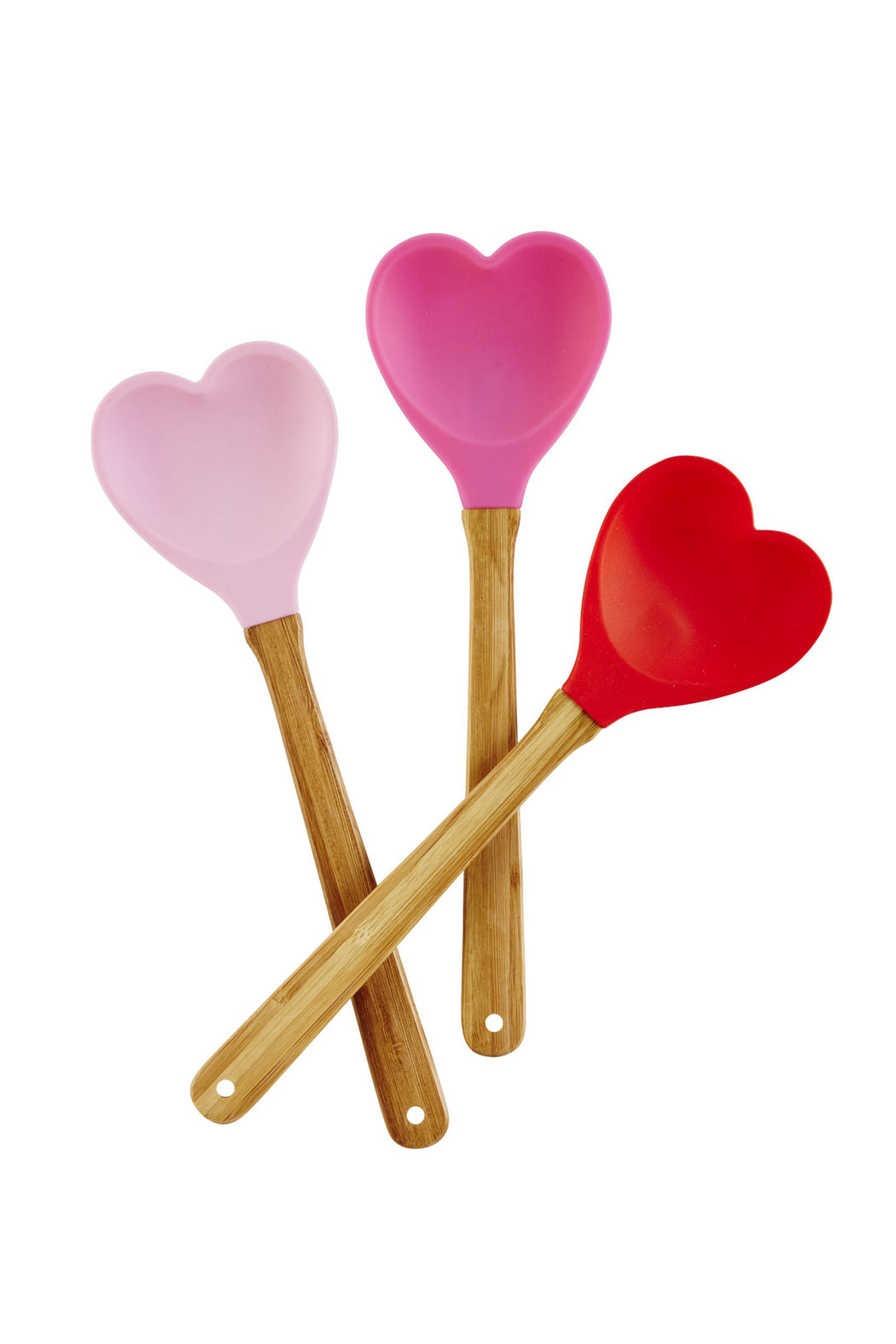 Sweet Heart Silicone Spoon