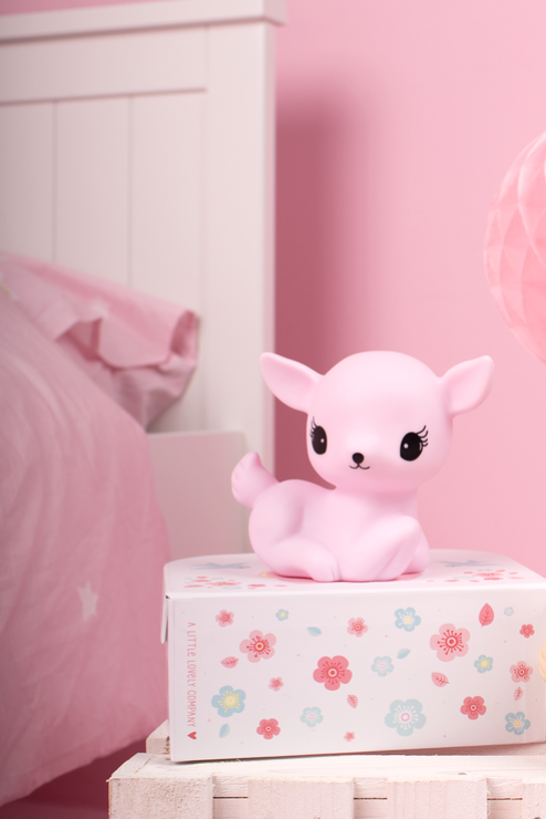 Little Deer Light Pink, Lighting, A Little Lovely Company - 3LittlePicks