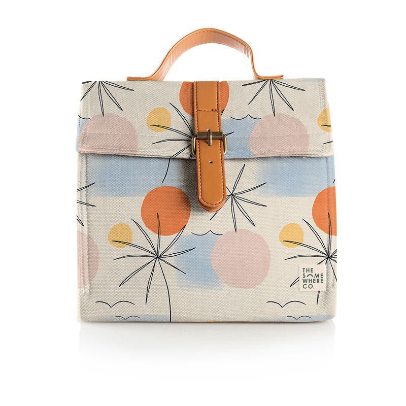Summer Vacay Lunch Satchel