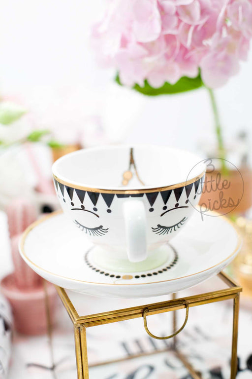 Eyes and Dots Tea Sets, Drinkware, Miss Etoile - 3LittlePicks