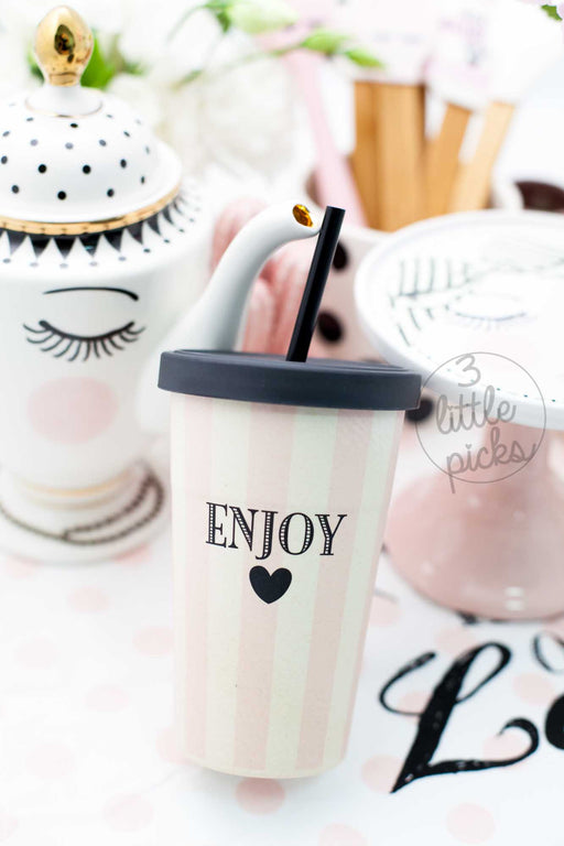 Enjoy Tumbler, Drinkware, Miss Etoile - 3LittlePicks