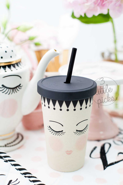 PRE-ORDER: Eyes and Dots Tumbler
