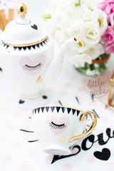 Eyes and Tear Tea Cup