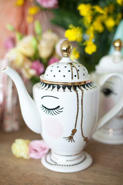 Pretty Eyes Teapot